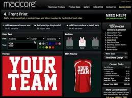 design jersey basketball online madcore custom sportswear online uniform builder and shirt designer