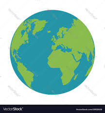 global map earth world earth global map continent geography vector image