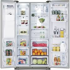 Samsung Counter Depth Refrigerator Side By Side by Side By Side Stainless Steel Ei26ss30js Electrolux 26 Cu Ft