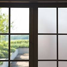 stickers for glass doors amazon com privacy window film 17 7 by 78 7 inch frosted window