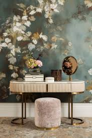 Interior Wallpaper Desings by Best 20 Vintage Interior Design Ideas On Pinterest Colorful