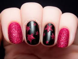 textured ruby stars vinyls the two and manicures