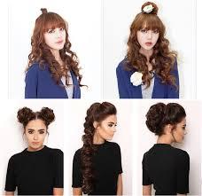 headband hair extensions soowee synthetic hair bun curly hair extension headband hair donut