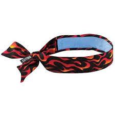 cooling headband ergodyne 6700ct cooling tie bandana universal walmart