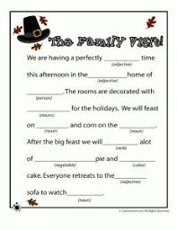 15 best mad libs images on thanksgiving crafts