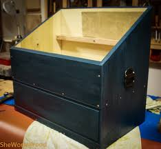 dutch tool chest with finish she works wood