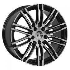 porsche cayenne replica wheels 20 black machined porsche cayenne panamera replica wheels
