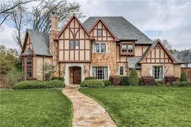 dallas tudor style homes for sale