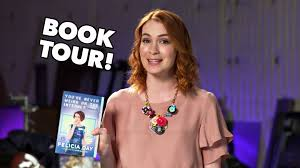 what is felicia day s hair color felicia day s going on tour youtube