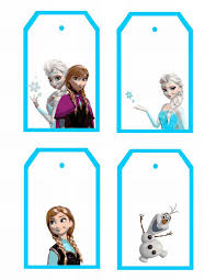 8 images frozen gift tags free printables frozen