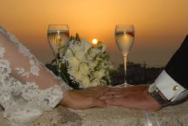 immagini belle tramonto fiore amore mazzo romanza nozze