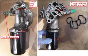 diy 2007 honda odyssey lx oil filter housing ofh gaskets