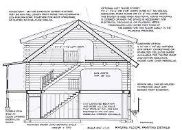 16x20 log cabin meadowlark log homes construction details meadowlark log homes