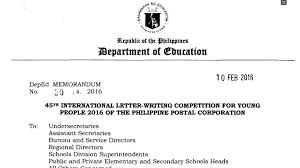 Apply Universal Postal Union International Letter Writing 45th International Letter Writing Competition For 2016
