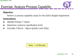 Capability Study Excel Template Ng Bb 27 Process Capability