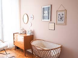 chambre de une déco de chambre de bébé en noir et blanc