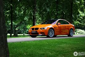 Bmw M3 Colour Bmw M3 In The Colour Feuer Orange