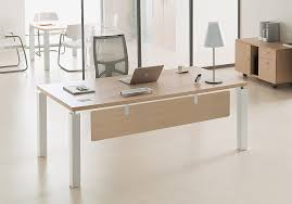 le bureau design pas cher bureau contemporain design de direction avec voile fond bois
