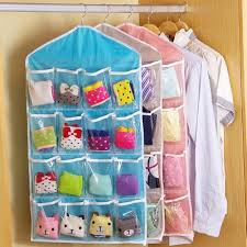 t shirt organizer 16 pockets clear over door hanging storage tidy organizer bag