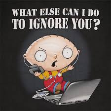 Family Guy Stewie Memes - family guy stewie what can i do to ignore you black tee shirt http