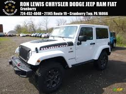 jeep rubicon white 2017 2017 bright white jeep wrangler rubicon recon edition 4x4