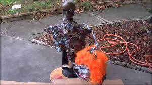 make a cheap halloween animatronic prop tutorial youtube