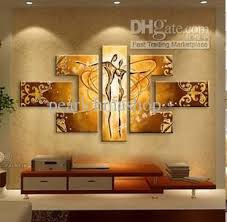 pure hand painted oil painting living room modern abstract art
