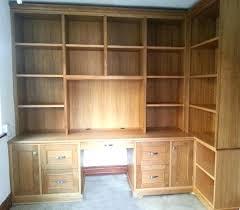 Office Desks Oak Office Desks Oak Furniture Home Sets Bespoke Wooden Built In West