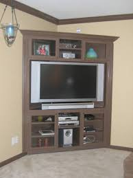 how to build a corner entertainment center crafty stuff