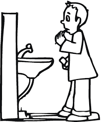Brushing Teeth Coloring Pages Many Interesting Cliparts Brushing Teeth Coloring Pages