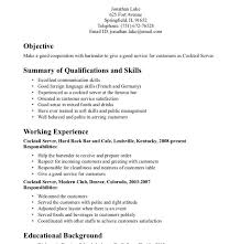 Sample Resume For Food Service by Waiter Resumes General Resumes Samples General Manager Resume