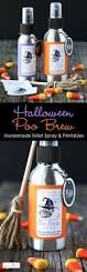 halloween poo brew printable labels toilet and sprays