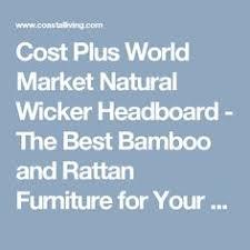 World Market Headboards by Vintage Rattan Bamboo King Pagoda Headboard Furniture Pinterest