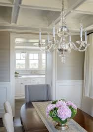 Wallpaper Designs For Dining Room Grasscloth U0026 Wainscotting Looks Nice To Me Also Liked That The