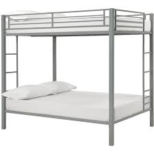 Dorel Full Over Full Metal Bunk Bed Multiple Finishes Walmartcom - Twin bunk bed dimensions