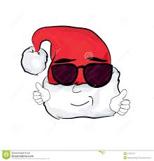cool christmas cool christmas hat stock illustration image 47922372
