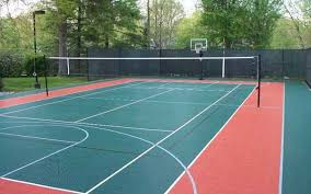 Backyard Tennis Courts Backyard Sport Courts House Plans And More