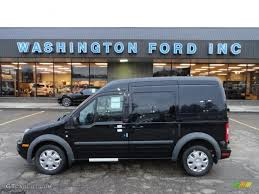 2012 panther black metallic ford transit connect xlt wagon