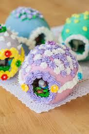 sugar easter eggs with inside diy peek a boo easter eggs
