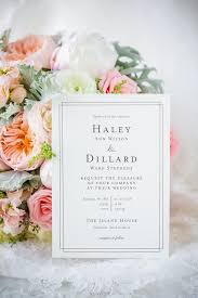 the 25 best simple wedding invitations ideas on pinterest