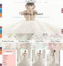 wedding planner website 19 wedding website themes templates free premium templates