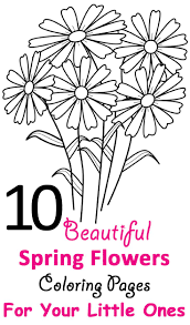 50 coloring spring images coloring sheets