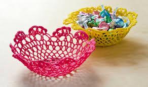 make a doily bowl with mod podge stiffy mod podge rocks