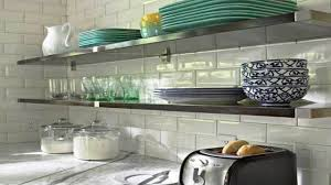kitchen ikea floating shelves kitchen pot racks toasters table