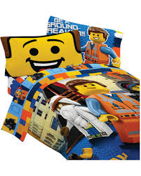 Lego Bedding Set Deals On Lego Bedding Set Emmet Wyldstyle Comforter Sheets