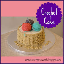 crochet a piece of cake