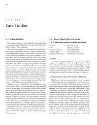 chapter 3 case studies making transportation tunnels safe and