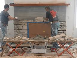 stone fire places choosing a stone fireplace real stone or faux stone