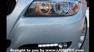 light green bmw ijdmtoy led daytime running lights for 2011 bmw e90 328i hd