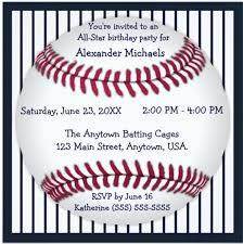 baseball birthday invitations 16 free psd vector eps ai